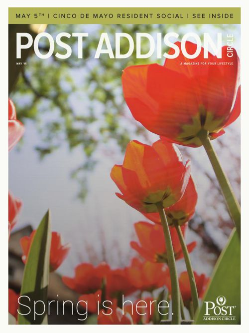 May 2015 Addison Circle Newsletter