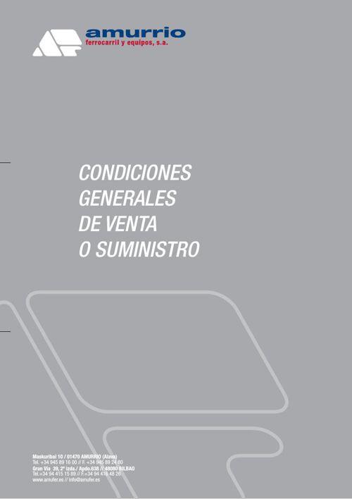 Condiciones generales Amurrio