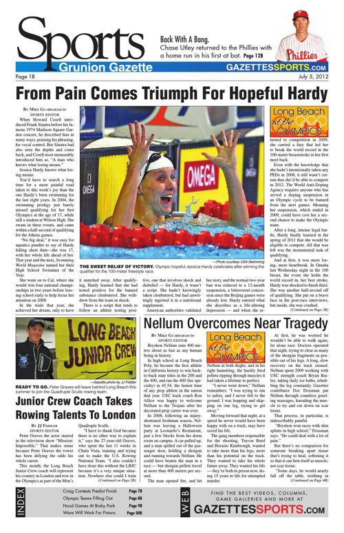 Gazette Sports | July 5, 2012