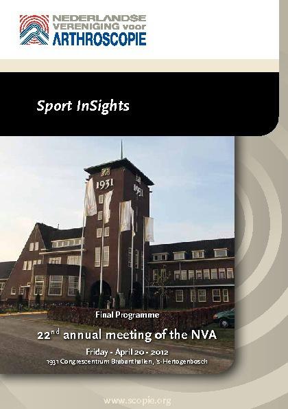 Programma NVA 2012