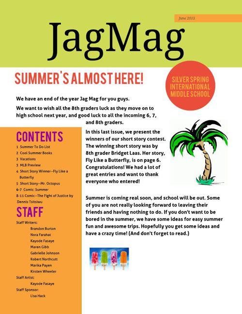 JagMag summer 2015