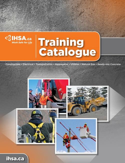 IHSA002 - Training Catalogue