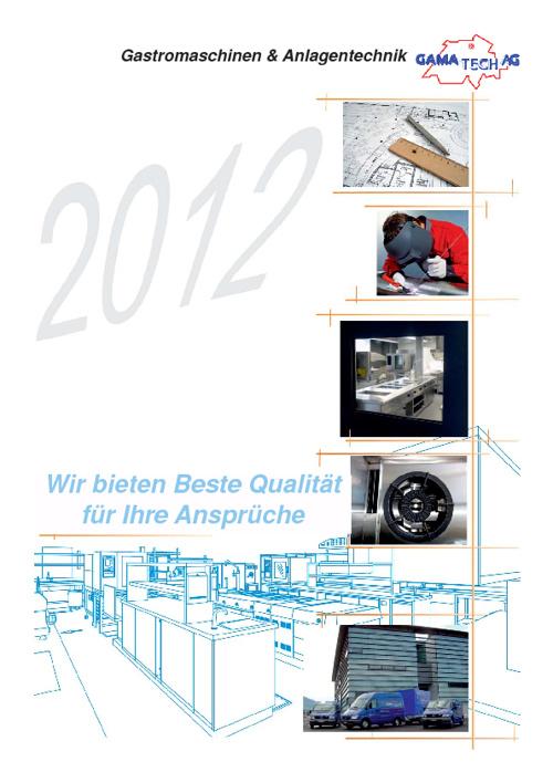 Gamatech Broschüre 2012
