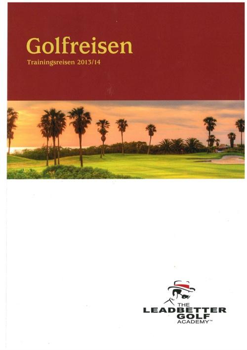 Fairway Golftravel Reisekatalog
