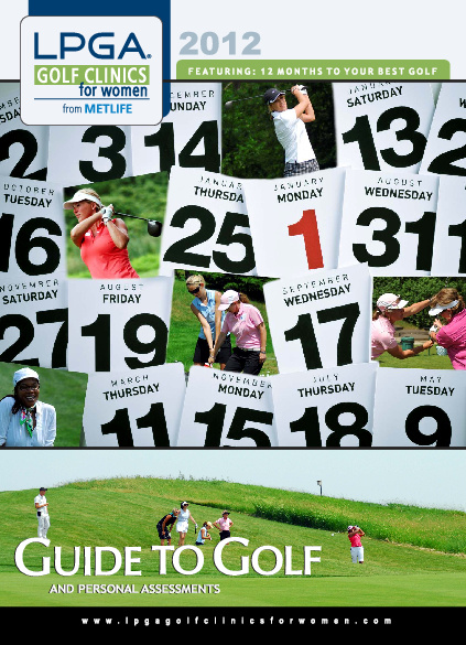 LPGA Golf Clinics for Women Golf Guide