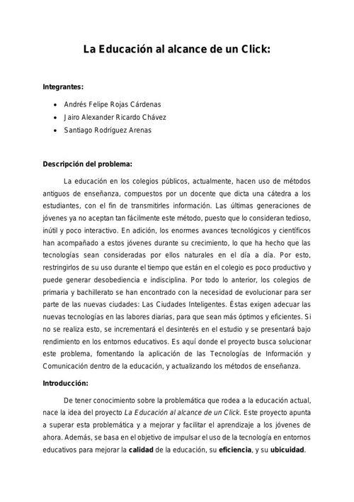 Proyecto - CBDigitales