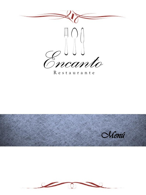 Menu Encanto Restaurante