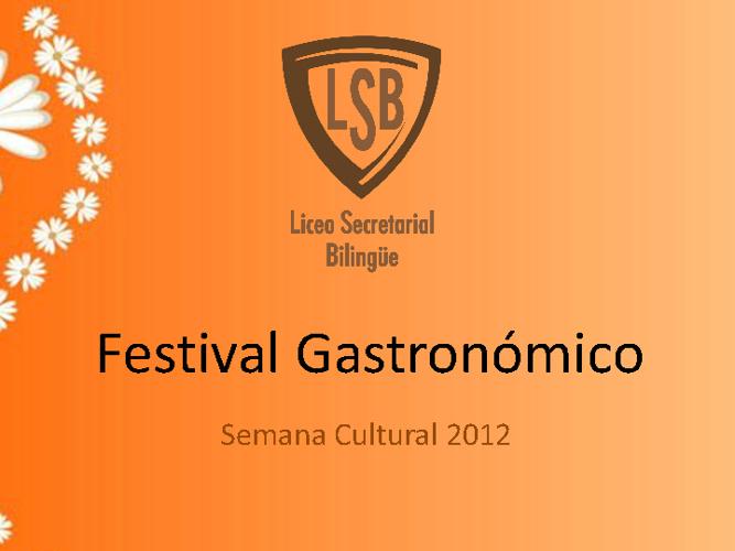 Festival Gatronòmico