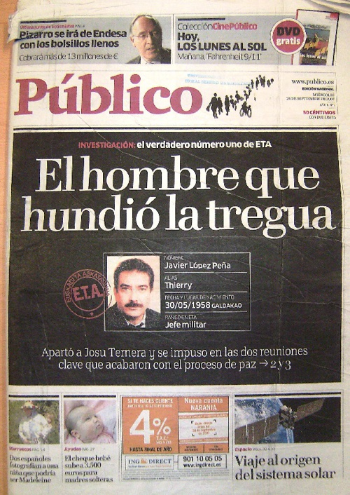 Diario Publico 26 septiembre 2007