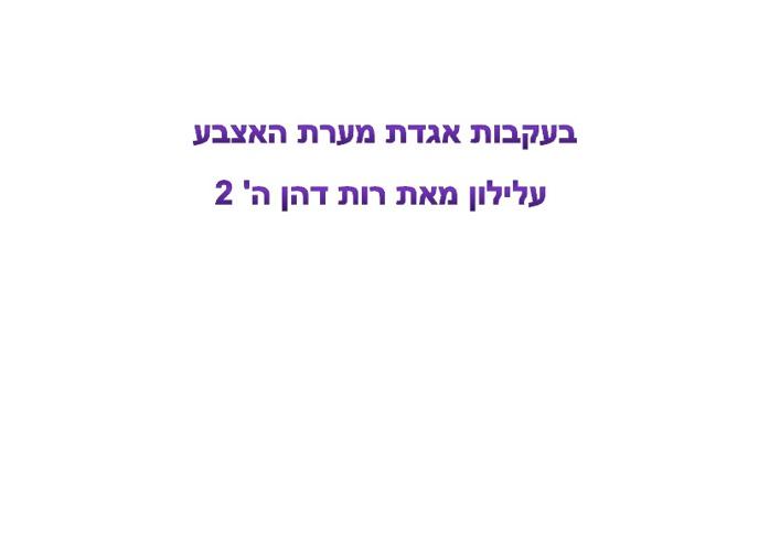 Copy of כתה ה' 2 יוצרת עלילון