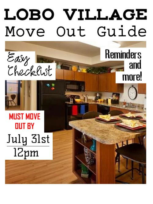 Move Out Guide 2017