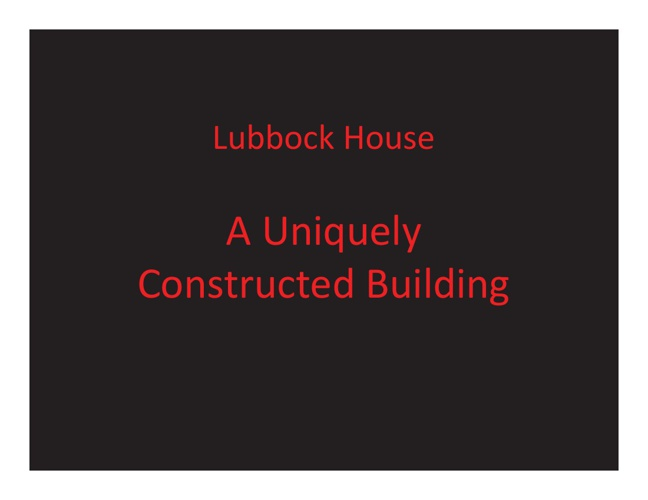 1919 Lubbock