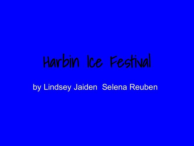 Harbin Ice Festival (2)