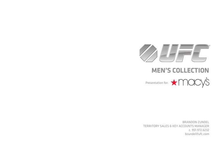 UFC | Macy's Presentation - revised