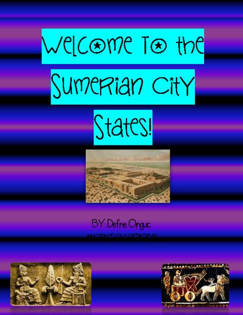 ancient sumer flip book