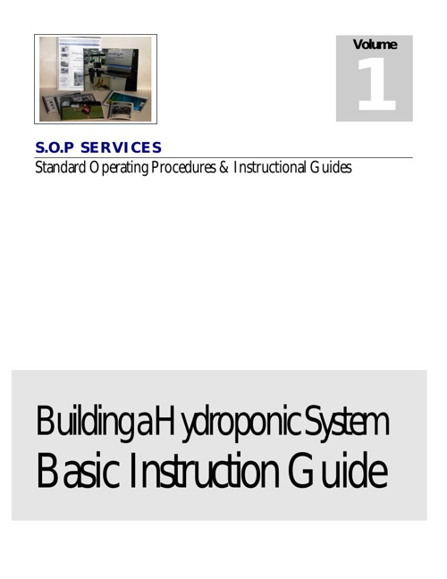 Building a Basic Hydroponic System