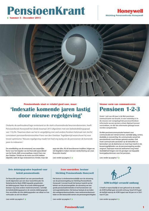Pensioenkrant Honeywell no5 december 2015_geheel