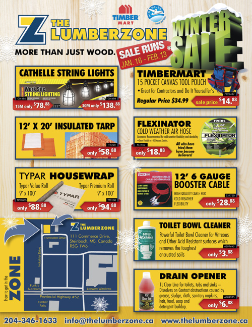 Winter Sale Jan 16 - Feb 13