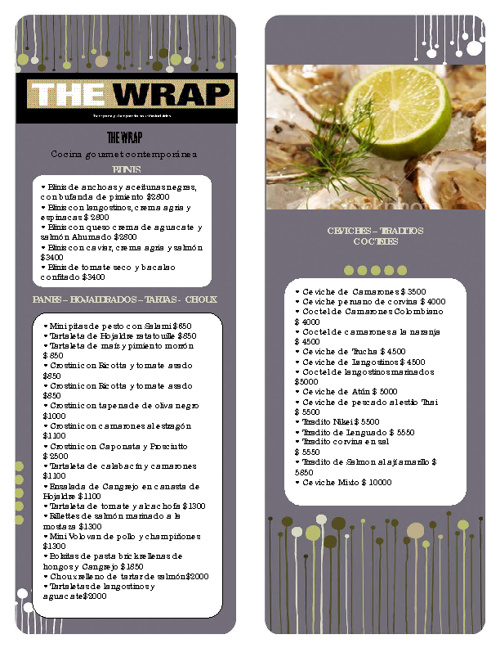 THE WRAP 1