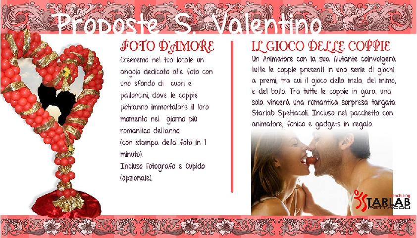 Proposte s. Valentino