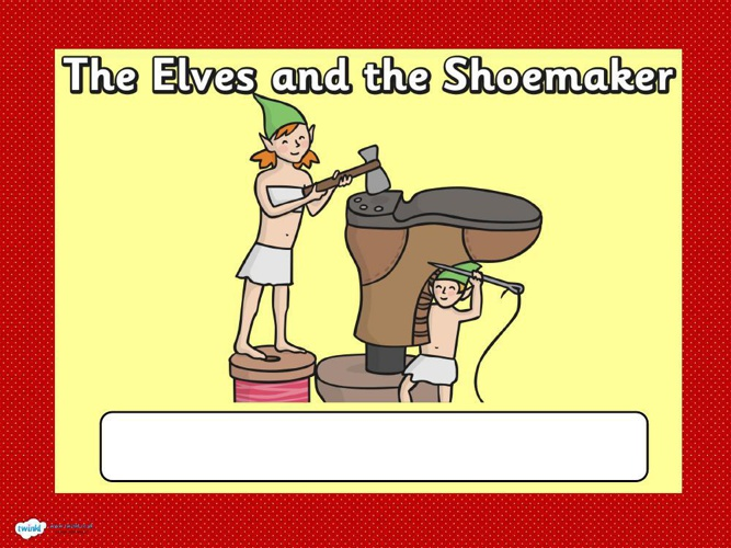 elves and shoemaker booklet web