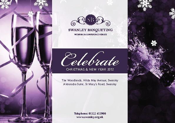 Swanley Banqueting Christmas 2012 Brochure