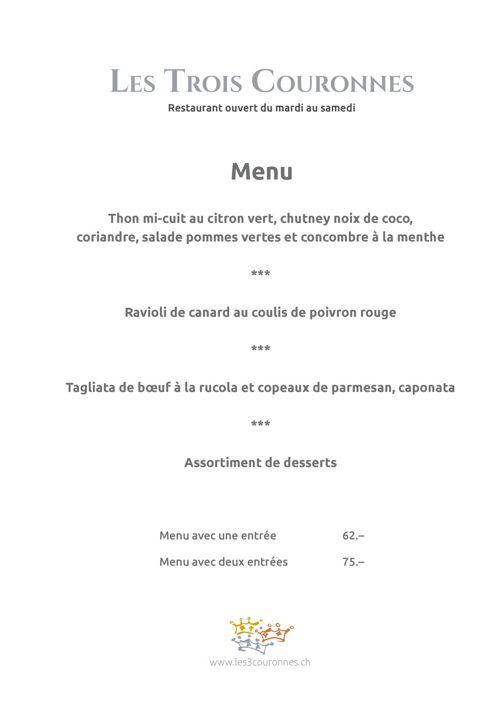 Copy of Carte Les 3 Couronnes