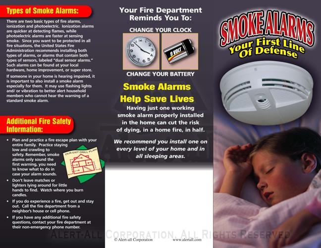 Smoke Alarm Brochure
