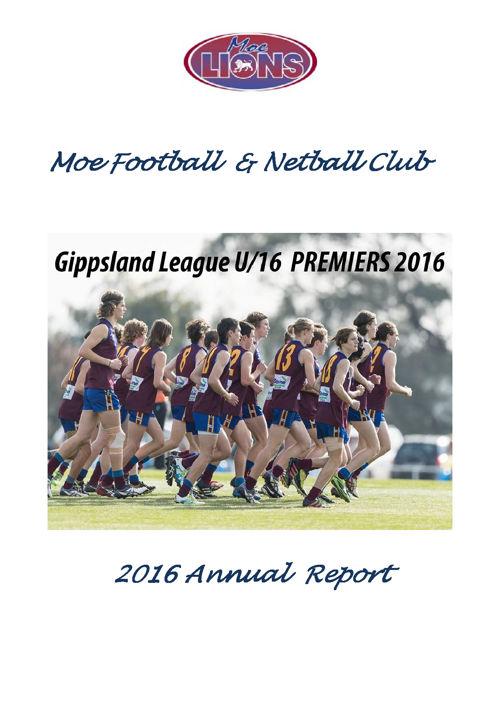 MFNC Annual Report 2016