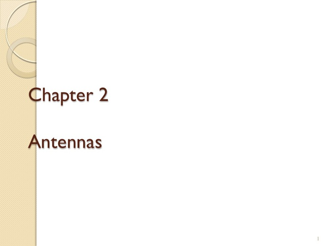 chapter 2 added notes