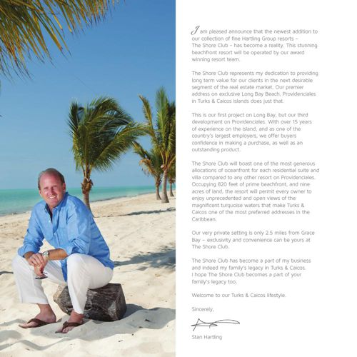 Brochure for The Shore Club On Long Bay | February 2015