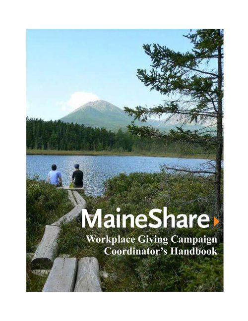 MaineShare Campaign Coordinator Handbook