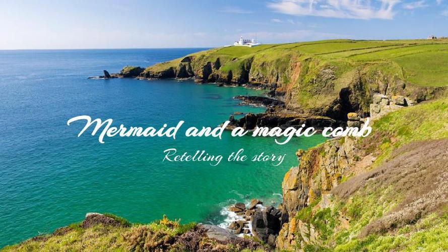 Mermaid and a magic comb