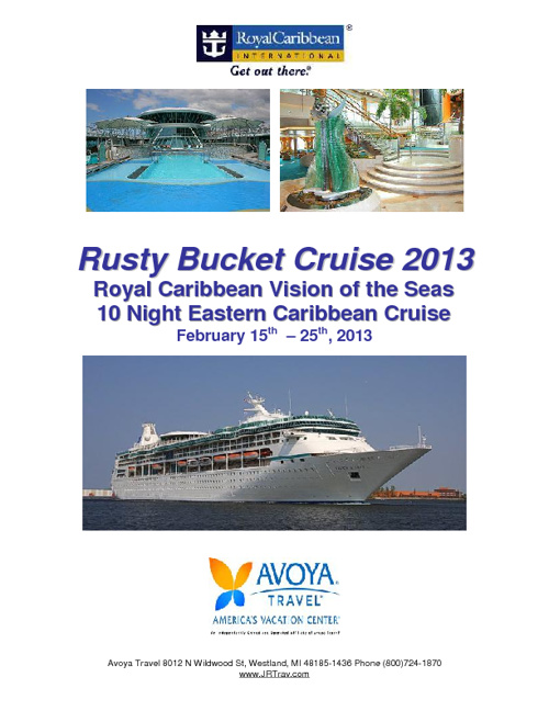 Rusty Bucket Cruise Feb, 2013