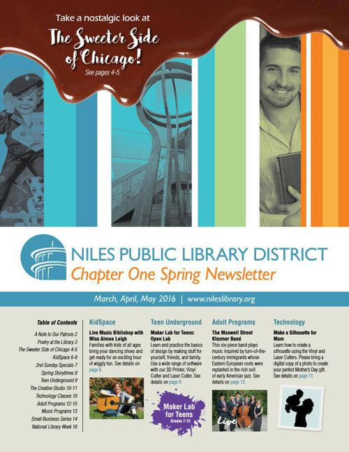 Chapter One Newsletter - Spring 2016