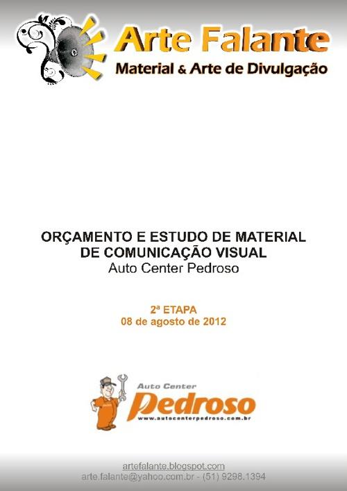 Apresentação Pedroso - 2ª Etapa