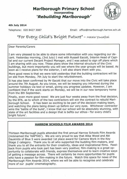 newsletter 4 July