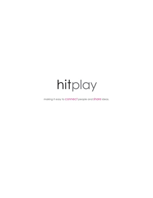 hitplay - audio visual solutions overview