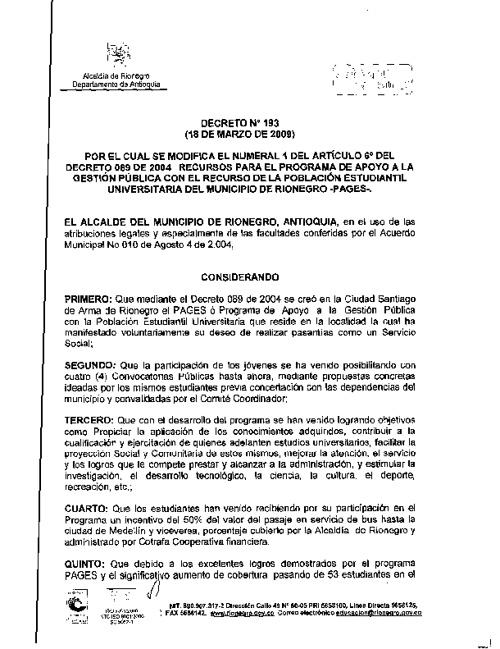 Decreto 193