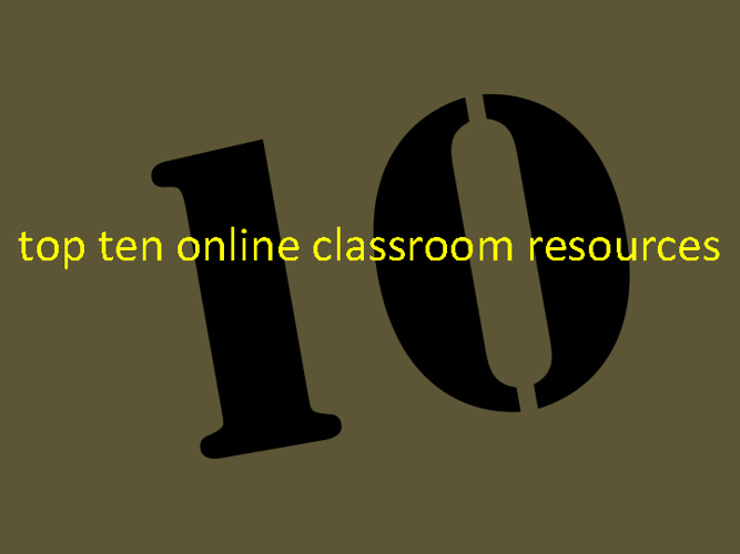 top 10 online classroom resouorces