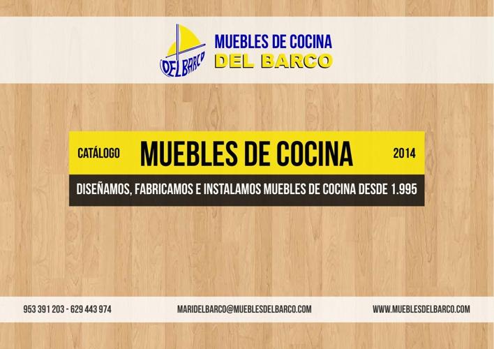 Muebles de Cocina - Muebles del Barco 2014