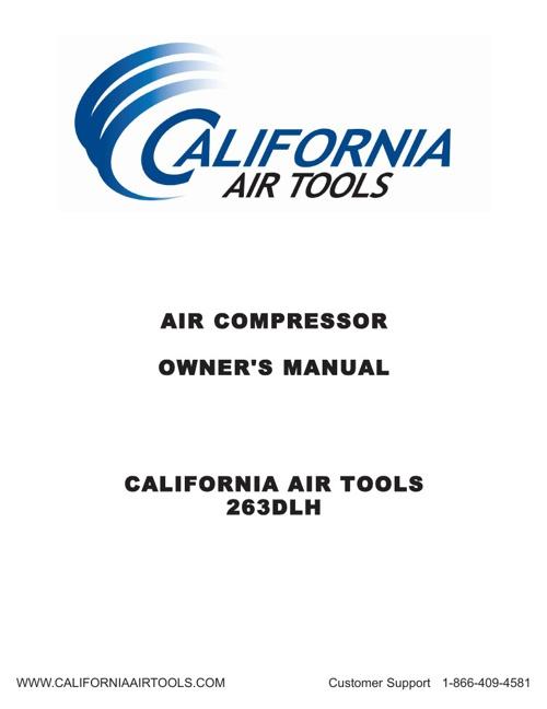 California Air Tools Model 263DIH