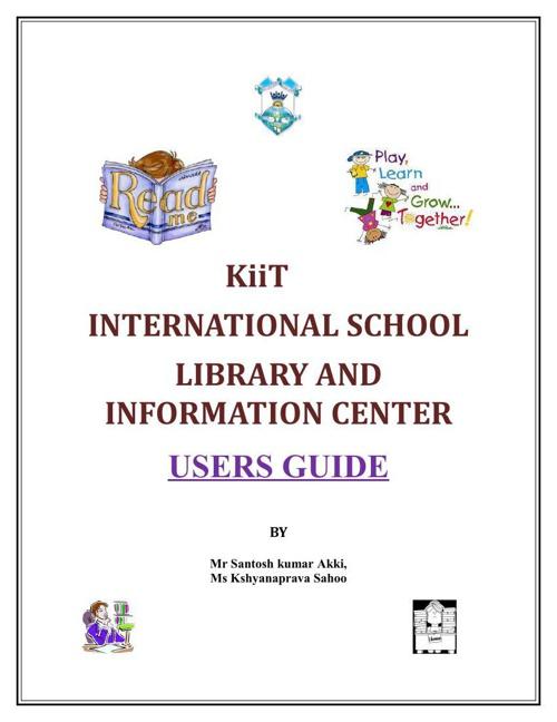 LIBRARY USER'S GUIDE - kiitis