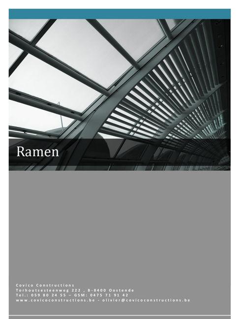 Brochure Ramen