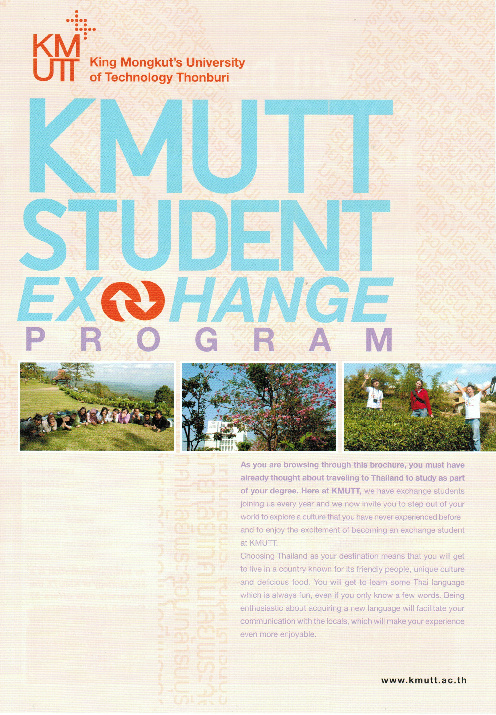 KMUTT Exchange Programs