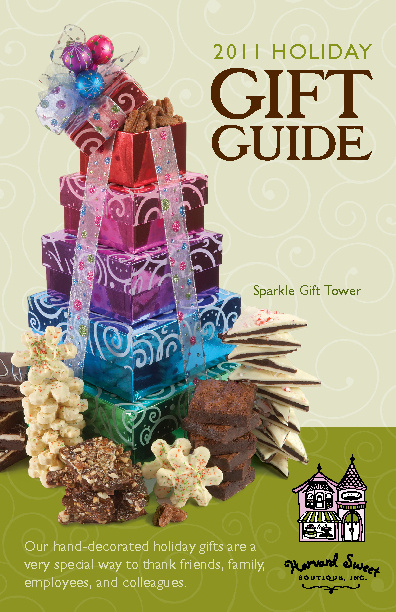 Harvard Sweet Boutique 2011 Holiday Gift Guide