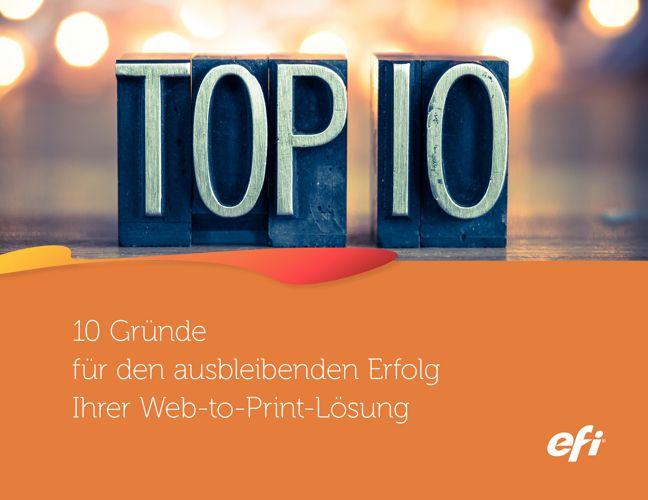 Web2Print Top 10