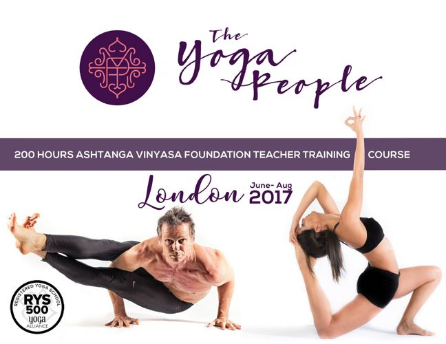 London 200-hour Ashtanga Vinyasa TT 2017