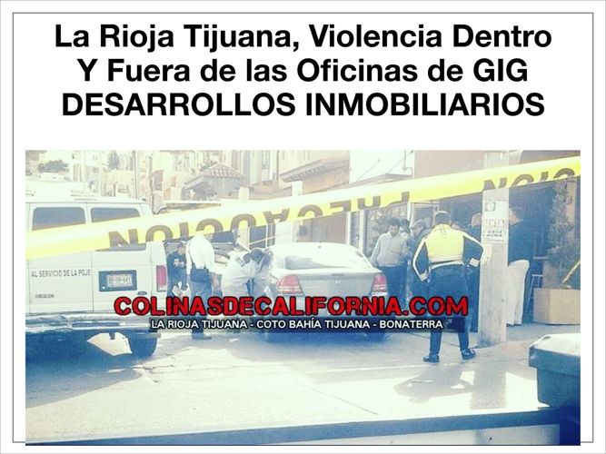 La Narco Rioja Residencial Tijuana Sobre Rellenos Sanitarios de