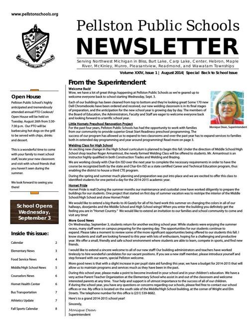 8-2014 Pellston Newsletterweb